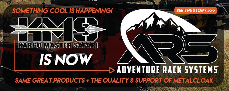 Kargo Master Safari is now Adventure Rack Systems