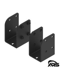 JK Wrangler Pro Rack Soft Top Rear Adapter Bracket - KMS
