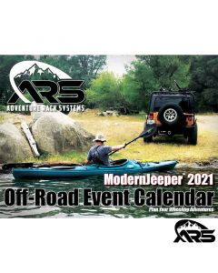 **50% OFF & FREE SHIPPING** 2021 ModernJeeper Off-Road Event Calendar, ARS Edition